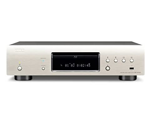 Denon DBT-3313UD High End 3D Universal Blu-ray-Player (DivX-HD, SACD, 2x HDMI, USB, Netflix) premium (Blue Ray Player Silber)