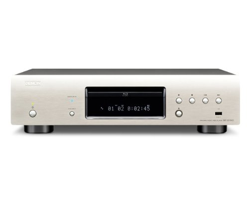 Denon DBT-3313UD High End 3D Universal Blu-ray-Player (DivX-HD, SACD, 2x HDMI, USB, Netflix) premium silber