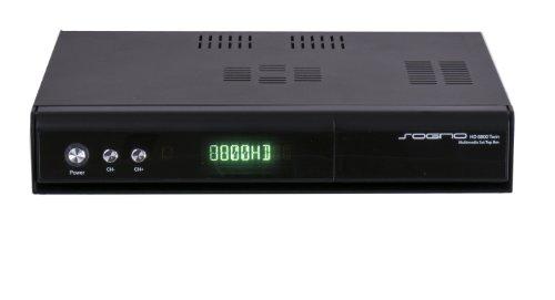 SOGNO HD 8800 Twin Full HD Linux Twin Kabel DVB-T/T2 Combo Receiver 2x DVB-T/T2C Tuner mit Festplatten Wechselrahmen, HbbTV, Webradio, IPTV, Wechseltuner und mehr