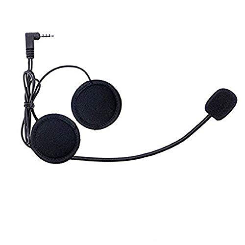 Meipire - Cuffie per casco da moto, navigatore GPS, jack da 3,5 mm, adatte alla maggior parte dei cellulari MP3, GPS