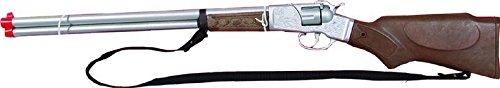 P'tit Clown - 71880 - Carabine À Amorces - Disque 8 Coups - Métal - Taille Unique - 68 Cm