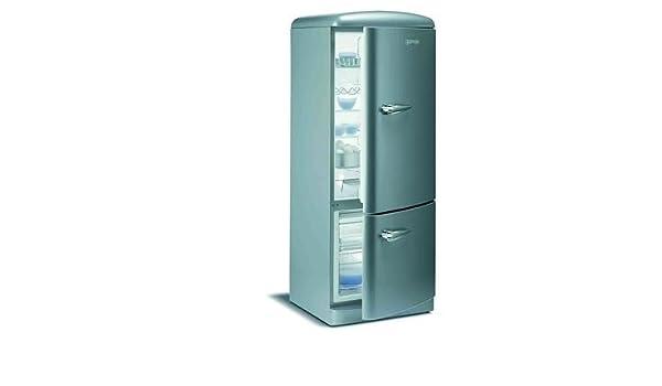 Retro Kühlschrank Anthrazit : Gorenje k otlb kühlschrank sterne anthrazit metallic amazon