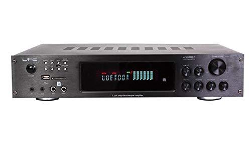LTC atm8000bt Verstärker Karaoke Hifi mit FM 4x 75W/3x 20W