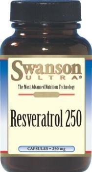 Swanson Ultra Resveratrol 250, 250mg (30 Capsules)