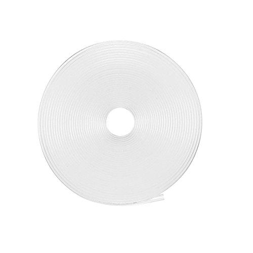 Sourcingmap Schrumpfschlauch, 2:1 Elektrische Isolierschlauch, Draht-Schlauch, transparent, 10 mm Durchmesser, 5 m Länge (Draht-schlauch)