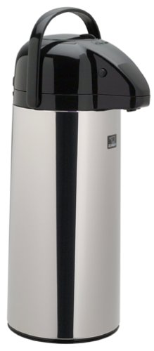 Zojirushi 2.45-litre brew-thru Air pot, in acciaio