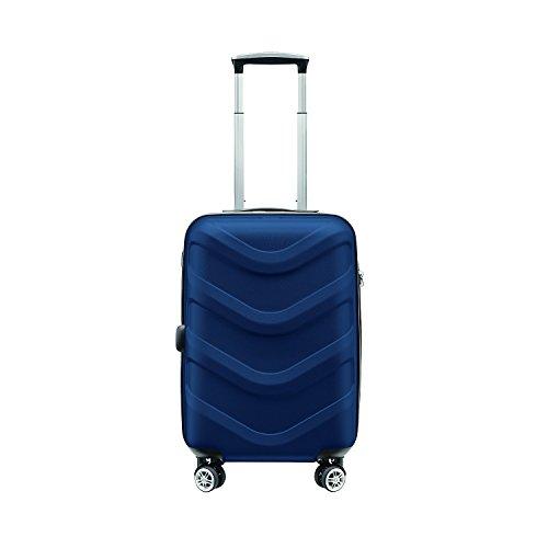 Stratic Arrow 4-Rollen-Bordtrolley 55 cm blau -