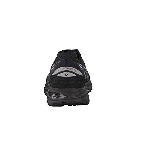 Asics T6c3n9093, Chaussures de Running Entrainement Homme, Noir Black / Silver