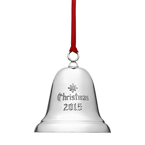 Reed & Barton X800E 2015 Annual Christmas Bell Ornament by Reed & Barton -