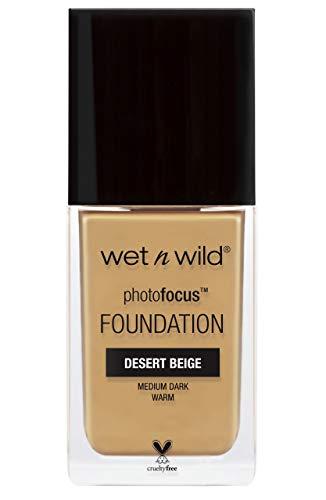 Wet N Wild Photo Focus Foundation Desert Beige - Base