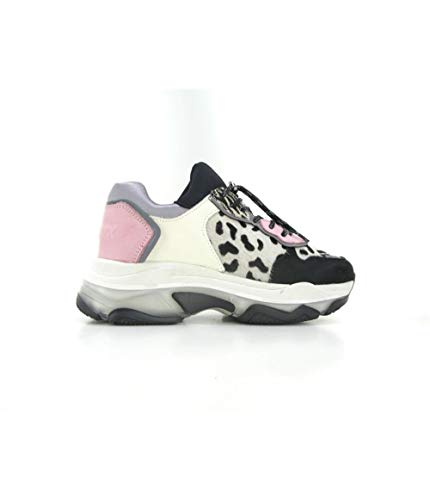 Bronx Damen Sneaker Low Baisley weiß 38