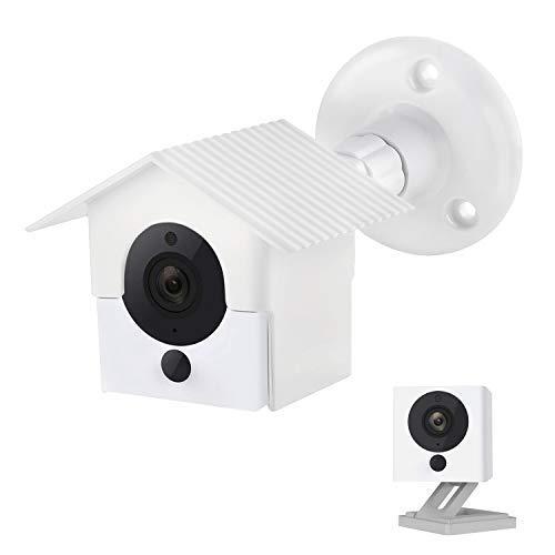 Wyze Cam V2 Support Mural, boîtier de Protection Résiste aux intempéries  Sécurité Plat Poêle, pour Wyze Cam HD 1080p Intérieur Extérieur Cam et