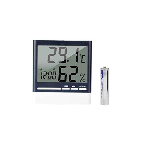 Pigup CX-318 LCD Digital termómetro higrómetro electrónico de la Temperatura Humedad Humedad Medidor...