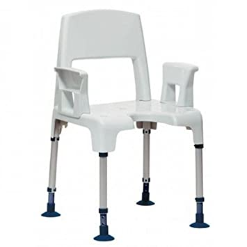 Invacare Aquatec Pico Height Adjustable 2-in-1 Shower Chair ...