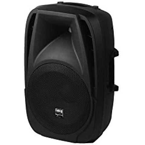 MONACOR - altavoz amplificado 10 '' con MP3 y Bluetooth Monacor PAK-10DMP