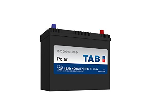 TAB Batterie Voitures Polar S Démarrage S45JA B45D 12 V 45AH 400 AMPS (EN)