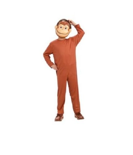 Curious George Child Costume And Mask