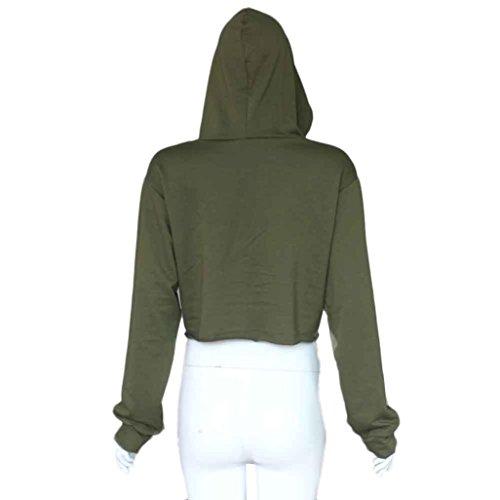 Transer - Pull - Femme noir noir XL vert militaire