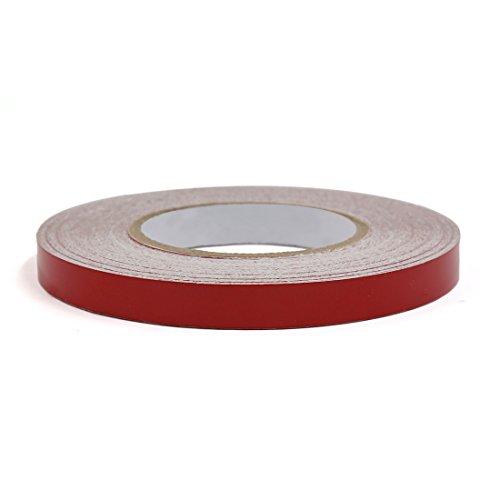 Skateboard Bänder Aufkleber, (sourcingmap Auto Fahrzeug Dekor Aufkleber rot Aufkleber Band reflektierend Streifen Rollen)