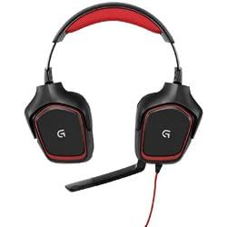 Logitech G230 Micro Casque Gaming - Noir