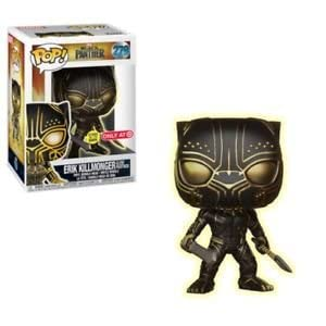 Funko Pop Erik Killmonger Glow (Black Panther – Marvel 279) Funko Pop Black Panther