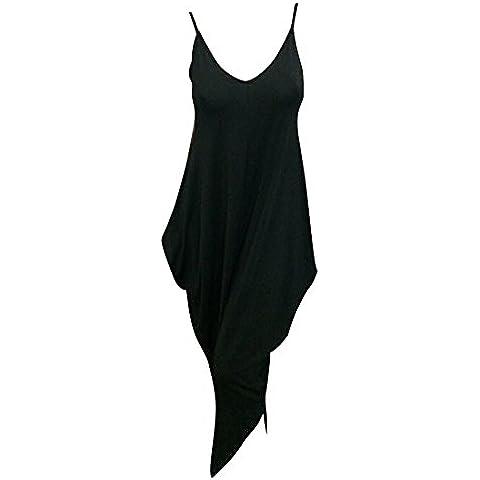 Moollyfox Mujer V Collar De Profundidad Elegante Tirantes Pantalones Cabestro Pieza