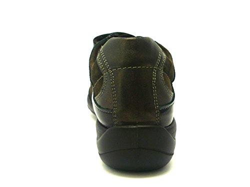 Sneaker Soft Woman Marron Fonce