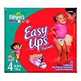 Pampers Easy Ups Diapers Girls Size 4 26...