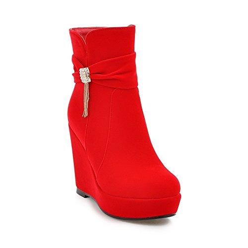 BalaMasa  Abl09835, Plateforme femme red