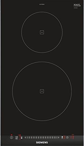 Siemens EH375FBB1E plaque - plaques (Intégré, Induction, verre-céramique, Noir, senseur, En haut devant)