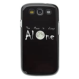 Letter Alone Pattern Aluminum Hard Case for Samsung Galaxy S3 I9300