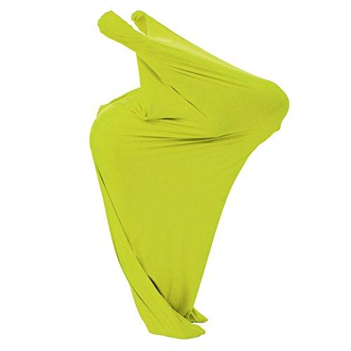 röße XL – ab 12 Jahre; mit Bildungsheft – luftdurchlässiger Stoff – Hautverträglich - Schwarzlichtanzug; Neon (Zirkus Figuren Kostüme Für Kinder)