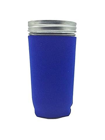 Jar-Z Pint and Half Canning Jar, 24 oz, Blue by Jar-z