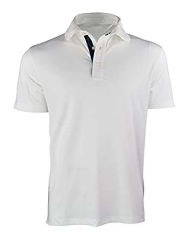 Tommy Hilfiger Men's Neil LC Flag Polo Shirt, White