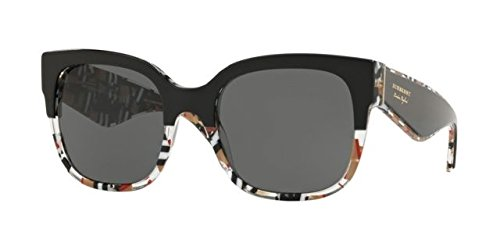 BURBERRY Sonnenbrillen LONDON ENGLAND BE 4271 BLACK COLORED FANTASY/GREY Damenbrillen