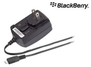 RIM BlackBerry Netzadapter mit internationalem / USA-Adapterstecker