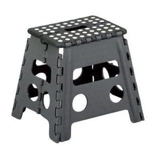Tritthocker Klapphocker Hocker Fußbank Kinderhocker Trittbank Sitzhocker Klappstuhl (Höhe: 40 cm - belastbar bis 120 kg)