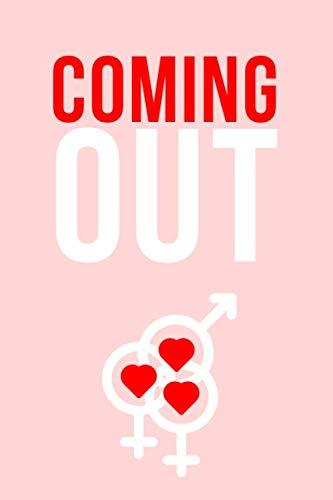 Coming Out: Notizbuch • Journal • Tagebuch für bisexuelle Frauen im wunderbaren Prozess der Bekenntnis zur eigenen Sexualität I Rosa
