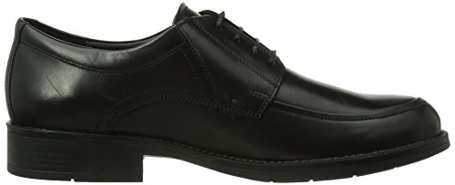Mephisto Damon Palace 4300 Black, Chaussures Bateau Homme Rouge (Black/hawaiian 10747)