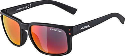 ALPINA Erwachsene Kosmic Sonnenbrille, Black matt, One Size