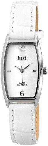 Just Watches 48-S10420-WH - Orologio da polso donna, pelle, colore: bianco