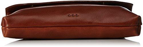 Royal RepubliQ Damen Darth Eve Umhängetasche, 4x14x22 cm Braun (Cognac)