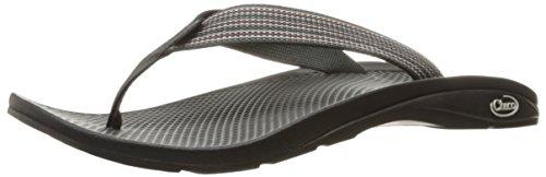 ChacoChaco - Ecotread-Flip-Flops Herren, Schwarz (Tread Black), 40 (Chaco Flip Flops Männer)
