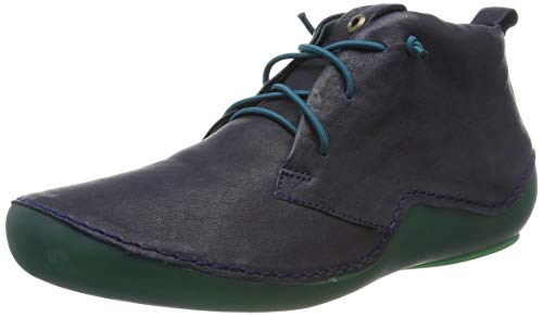 Think! Damen KAPSL_585060 Hohe Sneaker, Blau (Ocean/Kombi 82), 40 EU