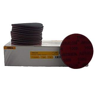 Mirka Abralon 125mm P1000 Grit 20x HookNLoop Foam Fine Finishing Discs Pad