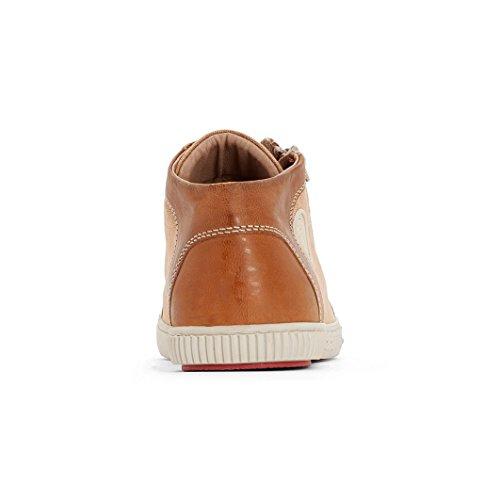 Pataugas - Bumper/T, Pantofole a Stivaletto Uomo Cammello
