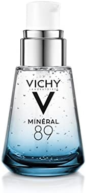 Vichy Mineral 89 Hydrating Hyaluronic Acid Serum and Daily Face Moisturizer For Stronger, Healthier Looking Sk