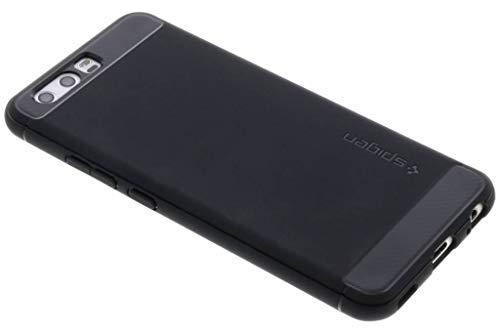 Cover Huawei P10, Spigen [Rugged Armor] Impressionante Black [Design Meccanica Durevole] Massima Protezione Da Cadute e Urti - Custodia Cover per Huawei P10 (L13CS21504)