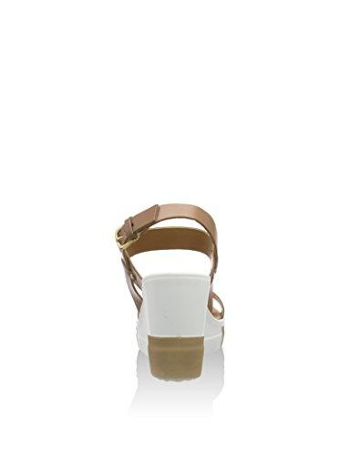 Cafenoir XV124 Sandalo zeppa Donna Beige
