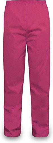 normani Outdoor Sports Regenhose für Damen und Herren wasserdicht 5000 mm für Wandern, Gassi gehen, Angeln oder Fahrad Fahren Farbe Pink Größe XL